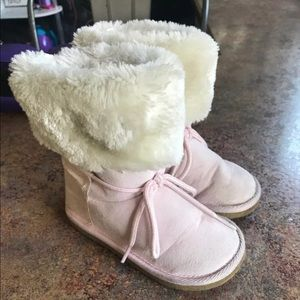 Carters Toddler girls pink winter boots size 7